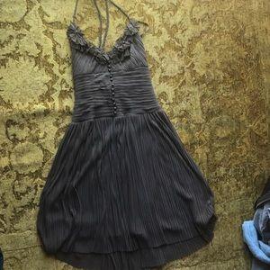 Bcbg brown dress